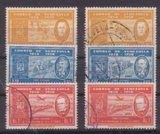 Venezuela  1292/97 , O  (4900) - Venezuela