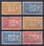 Venezuela  1292/97 , O  (4902) - Venezuela