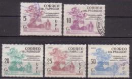 Paraguay  3415/19 X , O  (4903) - Paraguay