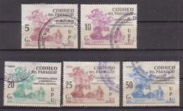 Paraguay  3415/19 X , O  (4904) - Paraguay