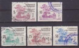 Paraguay  3415/19 X , O  (4905) - Paraguay