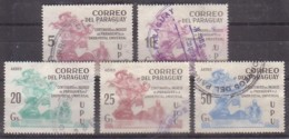 Paraguay  3415/19 X , O  (4906) - Paraguay