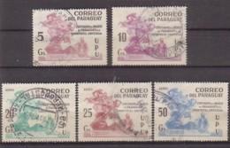 Paraguay  3415/19 X , O  (4907) - Paraguay