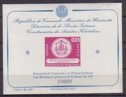 Venezuela  Bl. 5 , Xx  (4899) - Venezuela
