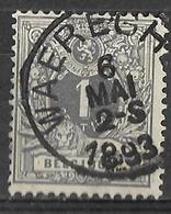 8S-793: N°43:  WAEREGHEM - 1869-1888 Lying Lion