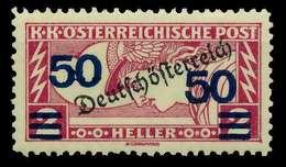 ÖSTERREICH 1919 Nr 254A Ungebraucht X7A845A - 1918-1945 1. Republik