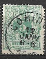 8S-790: N°45: COMINES... Korte Hoek - 1869-1888 Lying Lion