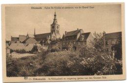 Dixmuide - St-Niklaaskerk En Omgeving Gezien Van Den Grooten Dijk - Diksmuide