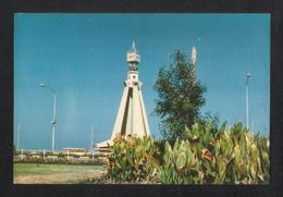United Arab Emirates Abu Dhabi Clock Tower Picture Postcard View Card U A E - Bahreïn