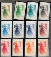 France 1949 Centenaire Du Timbre CITEX VIGNETTE Officielle  Marianne De Gandon, 12 Val Neuf - France