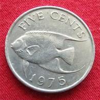 Bermuda 5 Cents 1975 Bermudes Bermudas Wºº - Bermudes