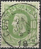 8S-783: N°30: E9: CORTEMARCK - 1869-1883 Leopold II