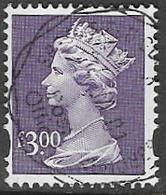 GB Y1802 1999 Machin £3 Good/fine Used [38/31690/25D] - 1952-.... (Elizabeth II)