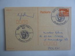 Entier Postal RDA  Repiquage  FLAMME  25 Jahre Tierpark   Ville De Karl Marx STADT 1  1989  Dec 2018 Alb 5 - [6] République Démocratique