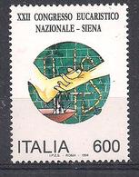 ITALIA 1994  2° CONGRESSO EUCARISTICO SASS. 2114 MNH XF - 6. 1946-.. Repubblica