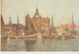 CPA - ENKHUIZEN - NAAR AQUAREL J. SETELIK - A. N. V. V. - OFFICE NATIONAL NÉERLANDAIS DU TOURISME - - Enkhuizen