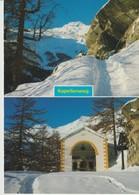 CPA - PHOTO - KAPELLENWEG - MULTIVUES - 47840 - SAAS FEE - WALLIS - KAPELLEWEG UND KAPELLE ZUR HOHEN STIEGE - - VS Valais