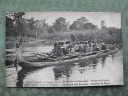 CONGO BELGE - PASSAGE DE LA KAGERA ( 2 Scans ) - Congo - Kinshasa (ex Zaire)