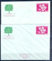 X14-  Lot Of Two Pakistan Postal Stationery. Tree Plantation Day Envelope. - Pakistan