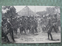 CONGO BELGE - DANSES ABABUA ( 2 Scans ) - Congo - Kinshasa (ex Zaire)