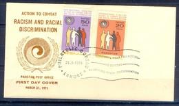 X29- Pakistan 1971. International Year For Action To Combat Racism & Racial Discrimination. - Pakistan
