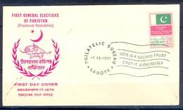 X30- Pakistan 1970. First General Elections Of Pakistan. Flag. - Pakistan