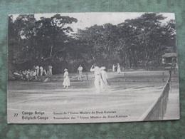 CONGO BELGE - TENNIS DE L'UNION MINIÈRE DU HAUT KATANGA 1923 ( 2 Scans ) - Congo - Kinshasa (ex Zaire)