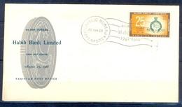 X39- Pakistan 1963. Silwer Jubilee Of Habib Bank Limited. Coin - Pakistan