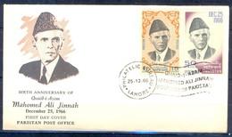 X42- Pakistan 1966. Birth Anniversary Of Quaid-e-Azam Muhammad Ali Jinnah. - Pakistan