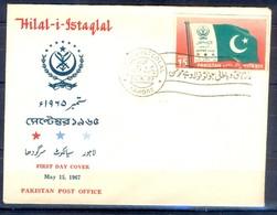 X53- Pakistan 1967. Hilal-i-Istaqlal. Flag. - Pakistan