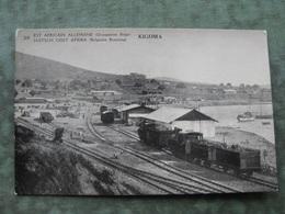 EST AFRICAIN ALLEMAND (OCCUPATION BELGE) / TANZANIA - KIGOMA  ( Train -  2 Scans ) - Tanzanie