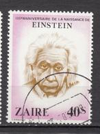 Zaire, Einstein, Prix Nobel De Physique, Physic Nobel Prize - Albert Einstein