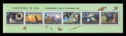 North Korea 2009 Mih. 5469/74 International Year Of Astronomy. Space. Fauna (booklet Sheet) MNH ** - Corée Du Nord