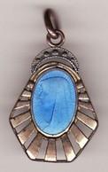 Ancienne Médaille Religieuse LOURDE ? Vierge émail Métal  ?  Haut 25 (TTB état) - Pendentifs