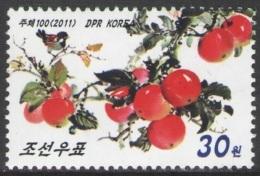 North Korea 2011 Mih. 5713 Flora. Apples MNH ** - Corée Du Nord