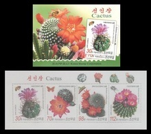 North Korea 2011 Mih. 5780/83 Flora. Cacti (booklet) MNH ** - Corée Du Nord