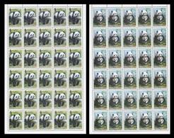 North Korea 2012 Mih. 5948/49 Fauna. Pandas (sheets) MNH ** - Corée Du Nord