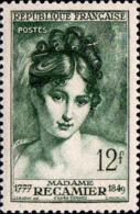 France Poste N** Yv: 875 Mi:893 Madame Recamier D'après Gérard (Petit Def.gomme) - France