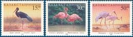 Kazakhstan 1998.  Birds. Mi # 226-228 MNH ** - Cigognes & échassiers