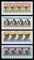 North Korea 2013 Mih. 5959/62 Sport. Tennis. Cricket. Cycling. Rugby (4 M/S) MNH ** - Corée Du Nord
