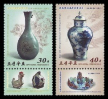 North Korea 2014 Mih. 6065/66 Cultural Inheritance. Ceramic MNH ** - Corée Du Nord