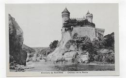CHATEAU DE LA ROCHE - ENVIRONS DE ROANNE - CPA NON VOYAGEE - Autres Communes