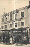 71 AUTUN Hôtel Terminus HOTEL De La GARE - Hotels & Restaurants