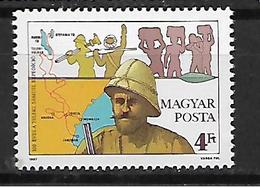 Hungary  1987 The 100th Anniversary Of The Africa Expedition  MNH - Hongrie
