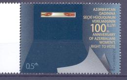 2018. Azerbaijan, 100y Of Azerbaijan Women Rights, 1v,  Mint/** - Azerbaïdjan