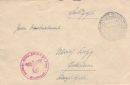 German Feldpost WW2: Kraftfahr Ersatz Abt. 25 P/m Baden 14.5.1941 - Cover Only(DD24-45) - Militaria