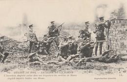 Rare Cpa L'infanterie Anglaise Dans Une Briqueterie Près De Meaux - 1914-18