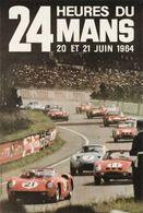 Car Automobile Grand Prix Postcard 24 Hrs Du Mans 1964  - Reproduction - Pubblicitari