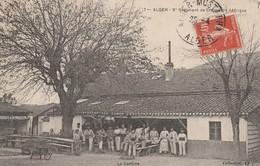 Rare Cpa Alger Le 5 ème Régiment Des Chasseurs D'Afrique - 1914-18