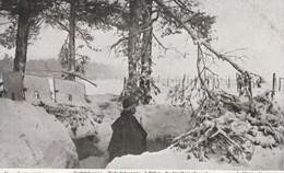 Rare Cpa Forêt D'Argonne  Poste D'observation à 200 Mètres Des Tranchées Allemande - 1914-18